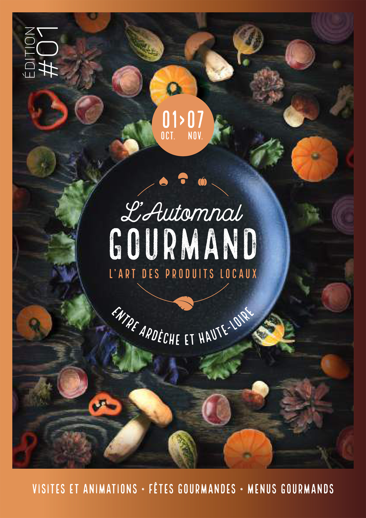 Affiche automnal gourmand